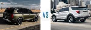 2020 Kia Telluride vs Ford Explorer