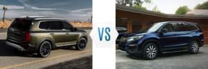 2020 Kia Telluride vs Honda Pilot