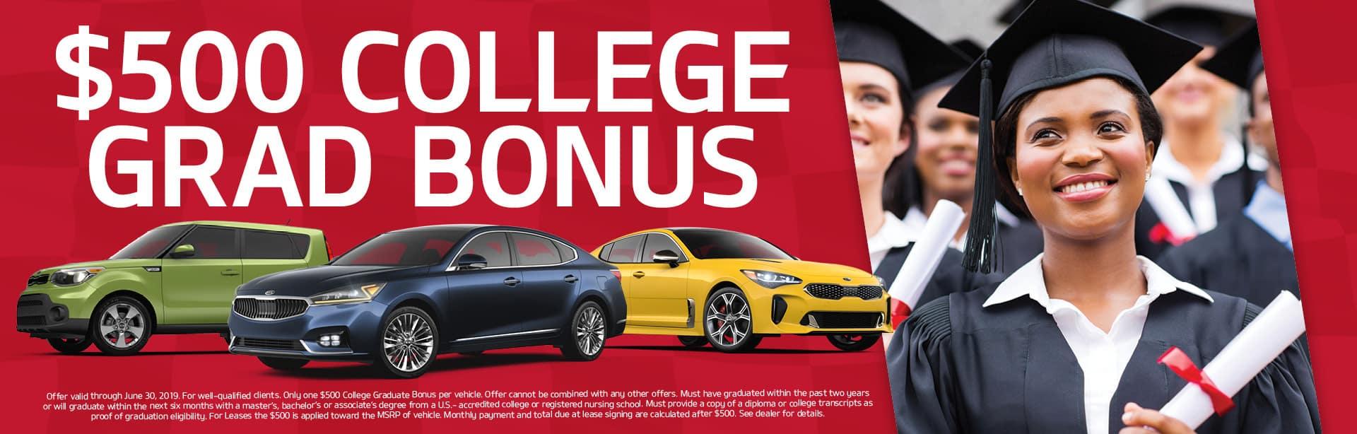 College Graduate Bonus Cash