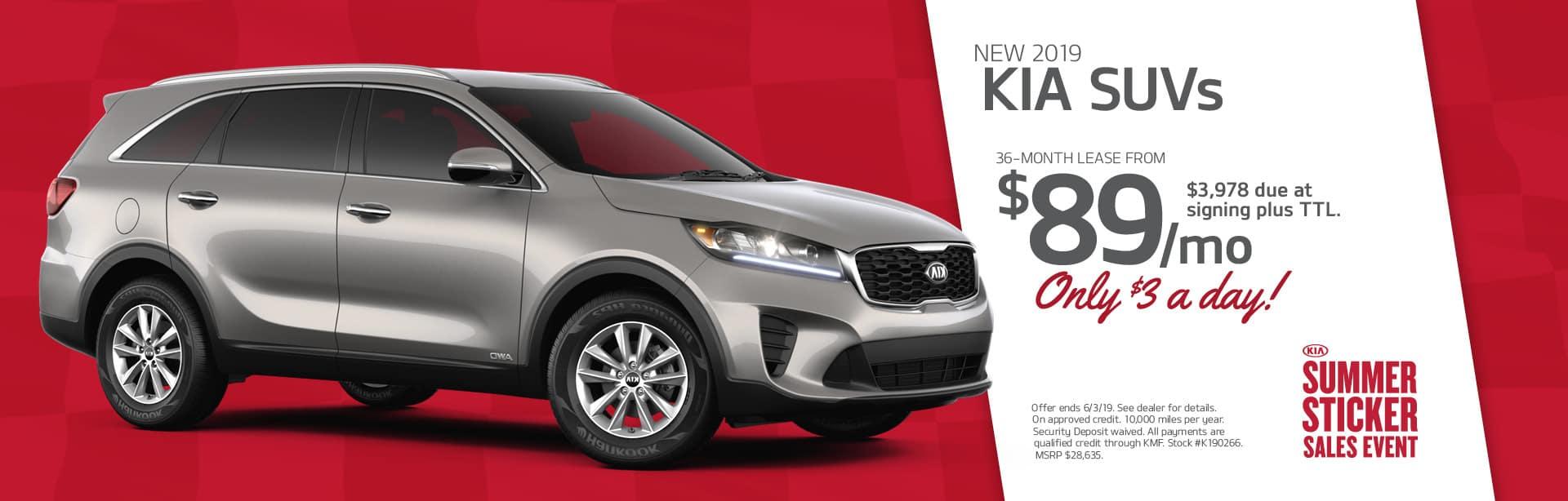 New Kia SUV - Sorento