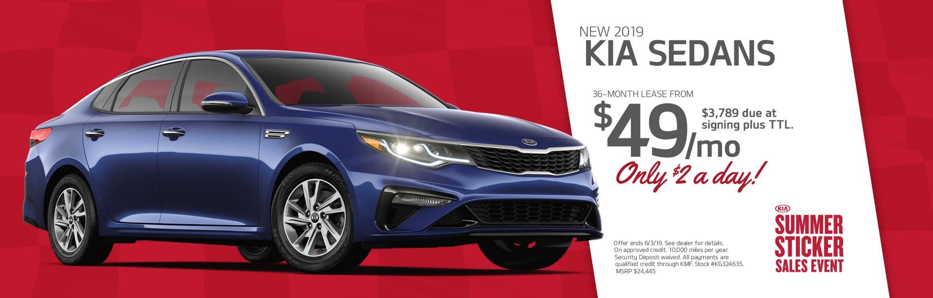 New Kia Sedan