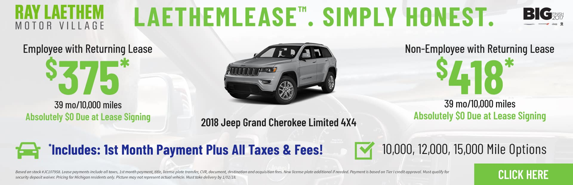 Grand Cherokee Limited LaethemLease