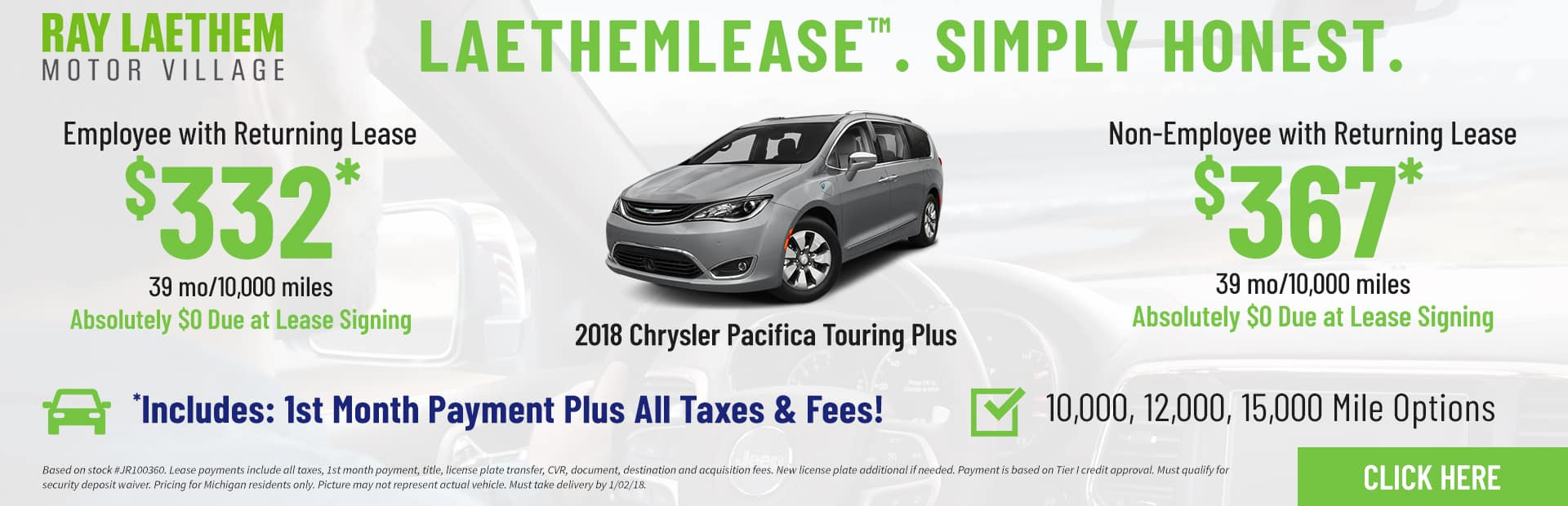 Pacifica Touring LaethemLease