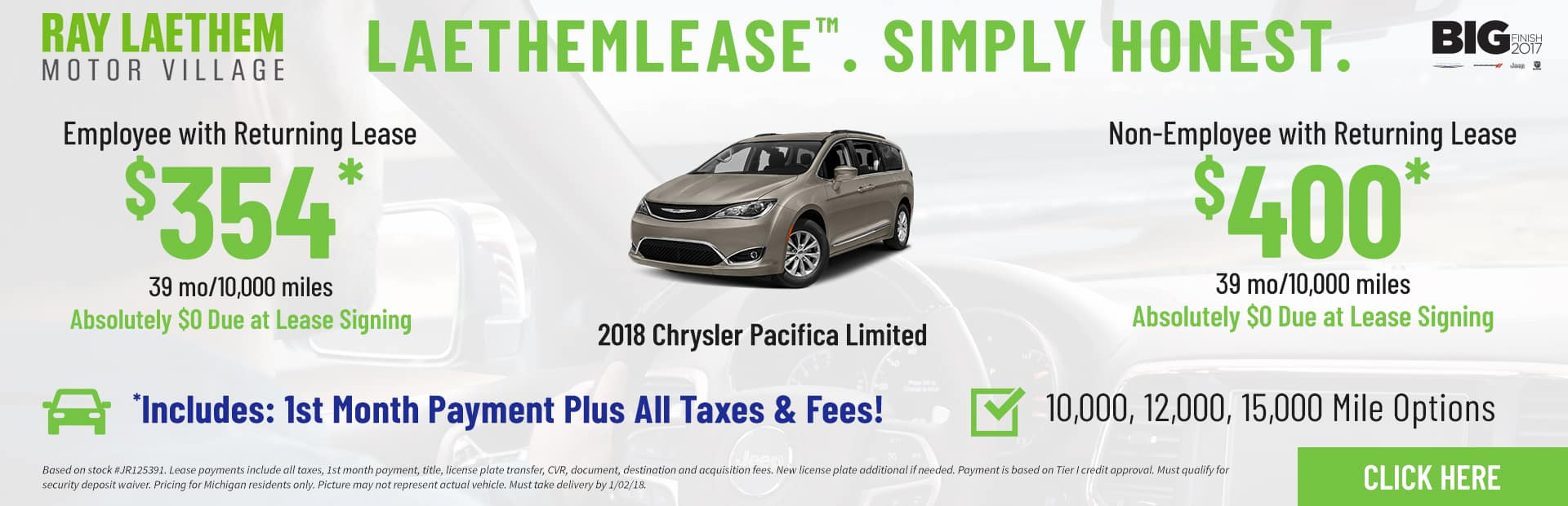 Pacifica Limited LaethemLease