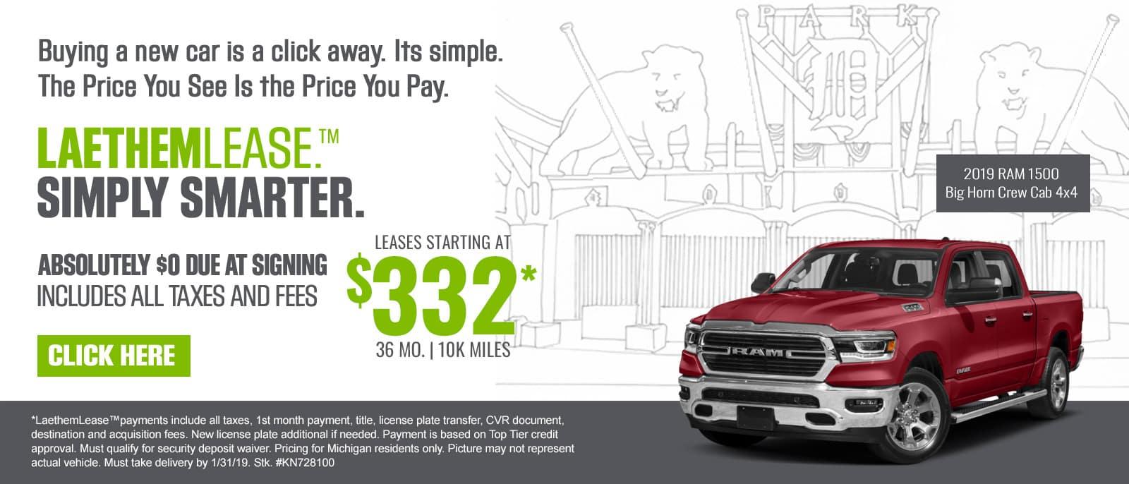 Ray Laethem Chrysler Dodge Jeep Ram Cdjr Dealer In Detroit Mi
