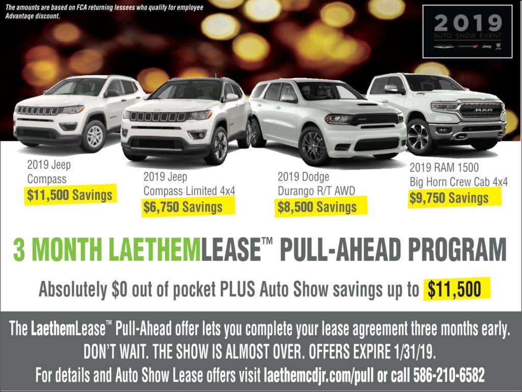 3 Month Pull-Ahead Offer