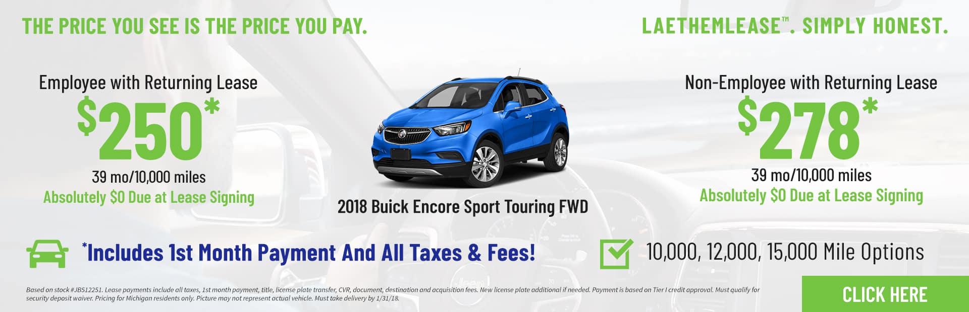 Encore Sport Touring LaethemLease