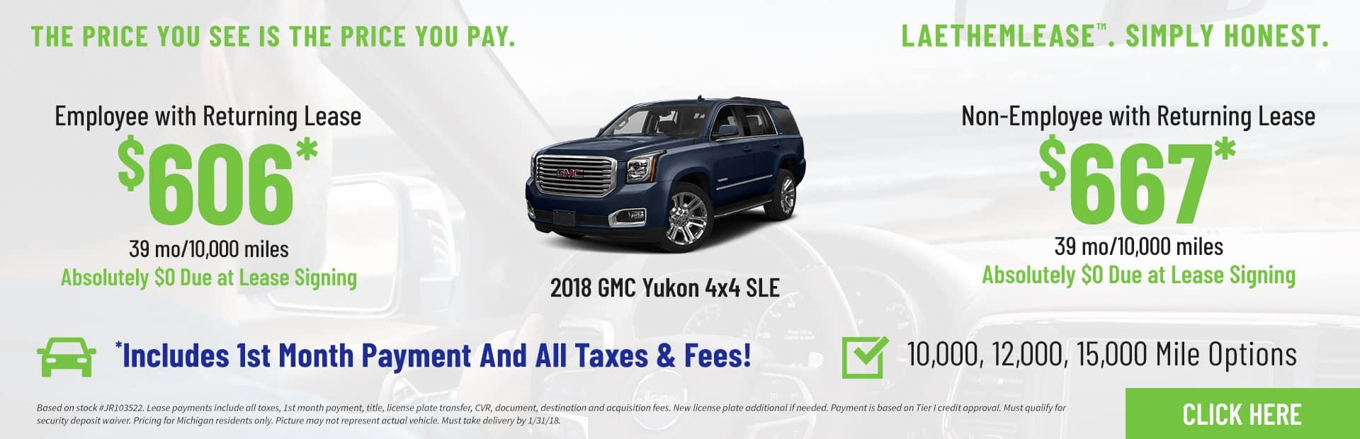 Yukon SLE LaethemLease