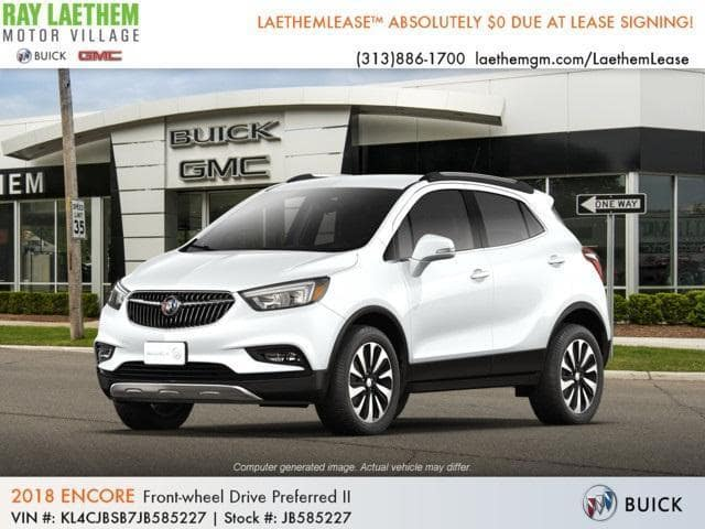 2018 Buick Encore Preferred II