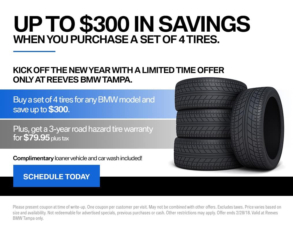 BMW Tire Promotion