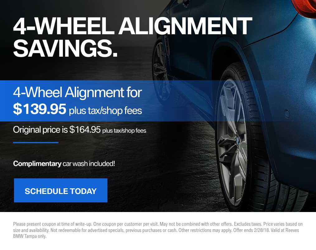 BMW Wheel Alignment