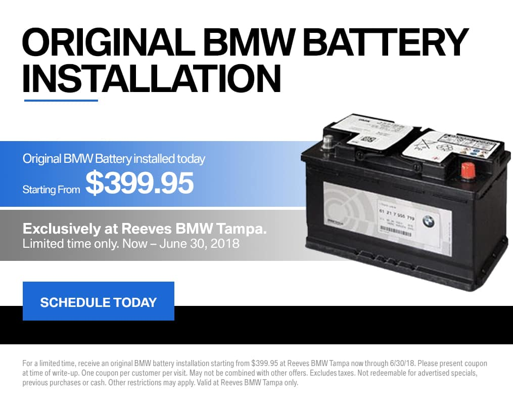 BMW Battery Special