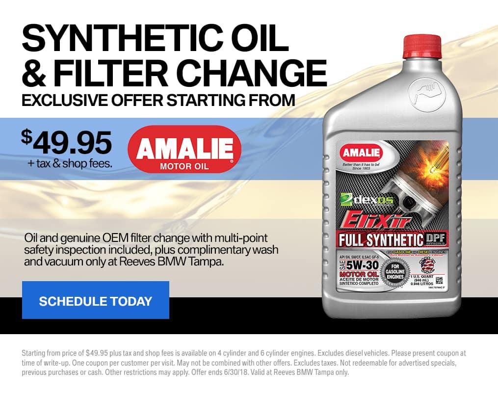 BMW June Oil Change Special