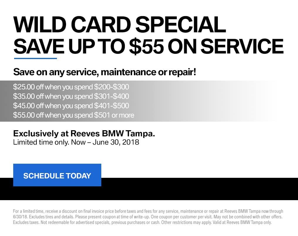 BMW Wild Card Special