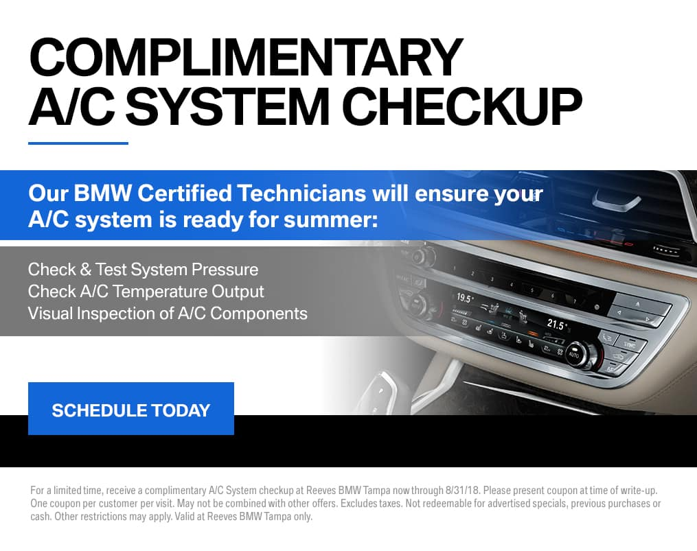 BMW A/C System Check Up