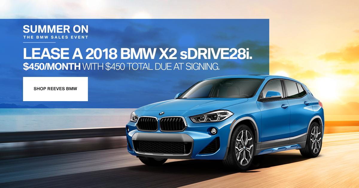 2018 BMW X2 Lease Special