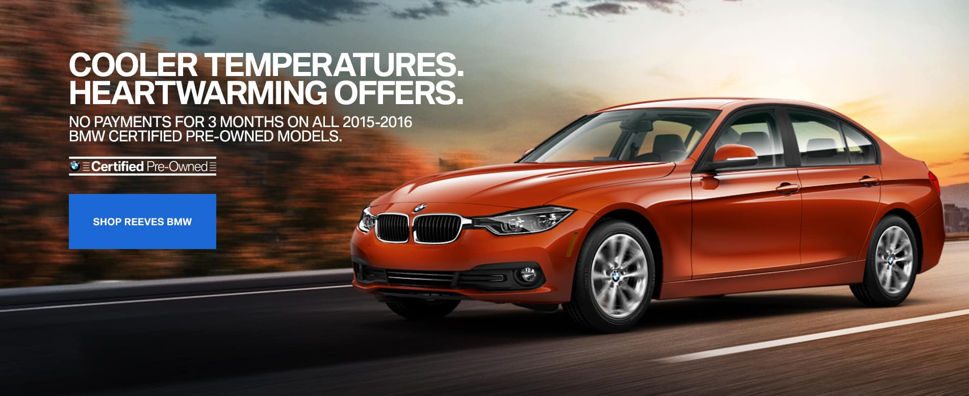 September CPO BMW Specials