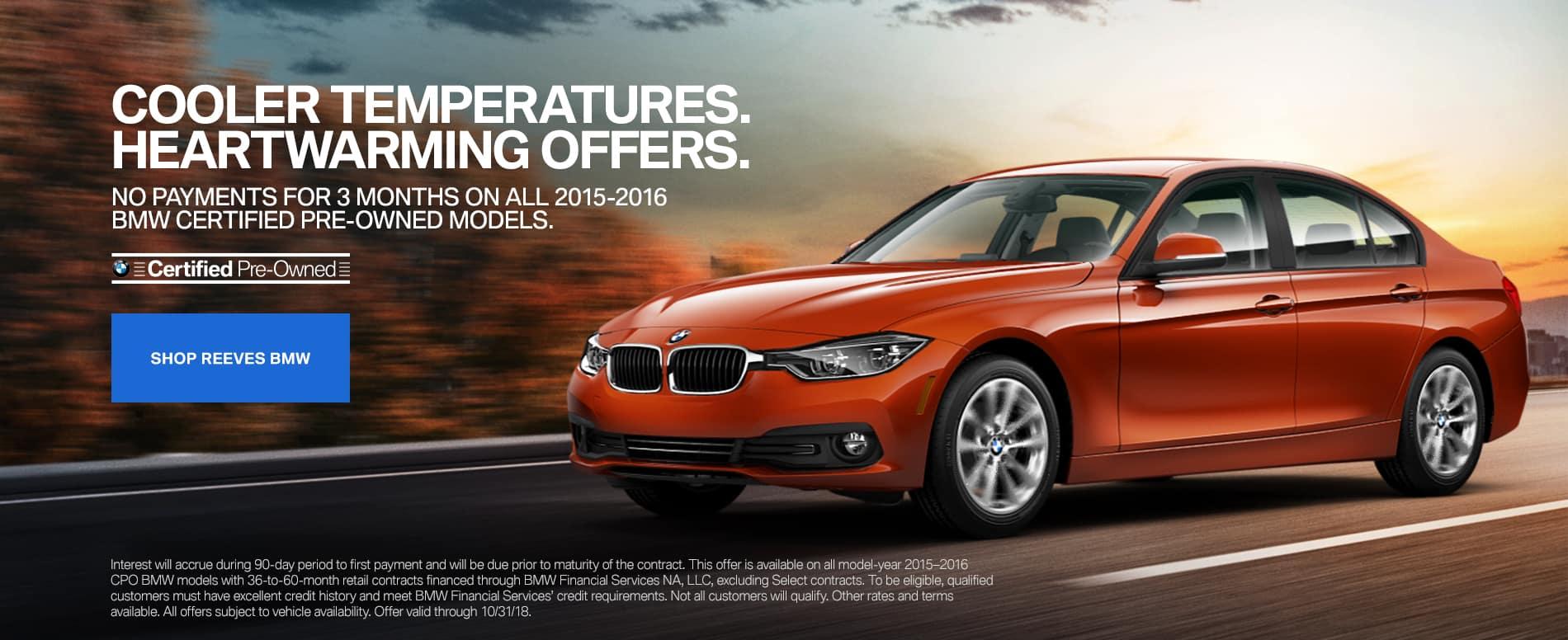 BMW CPO September Offer