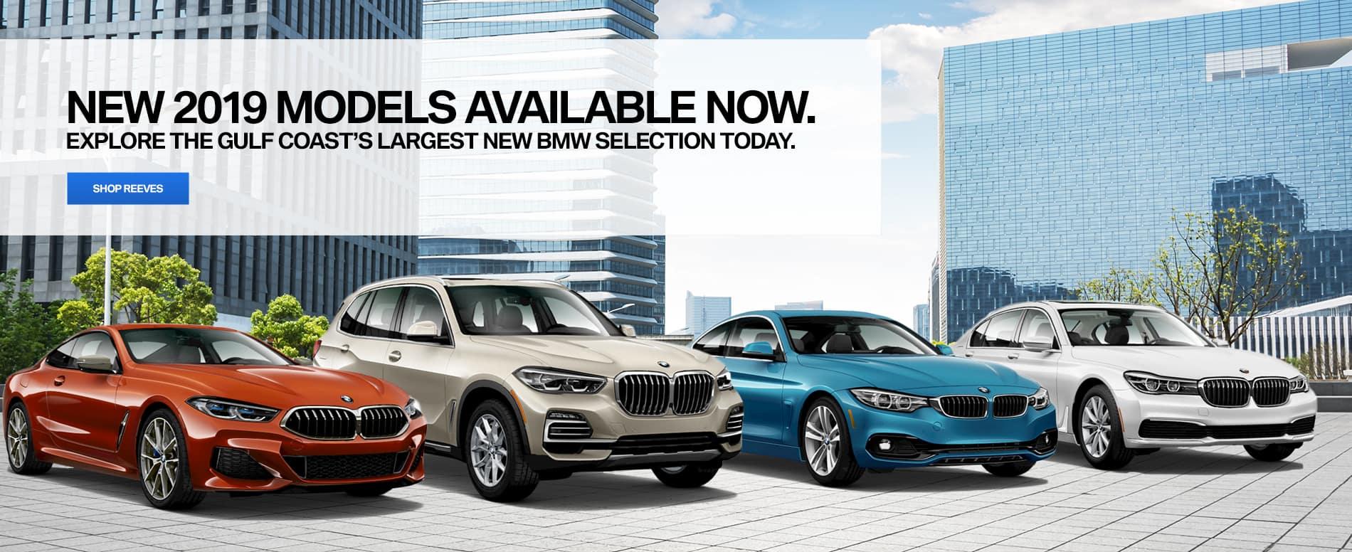 Reeves BMW 2019 Models
