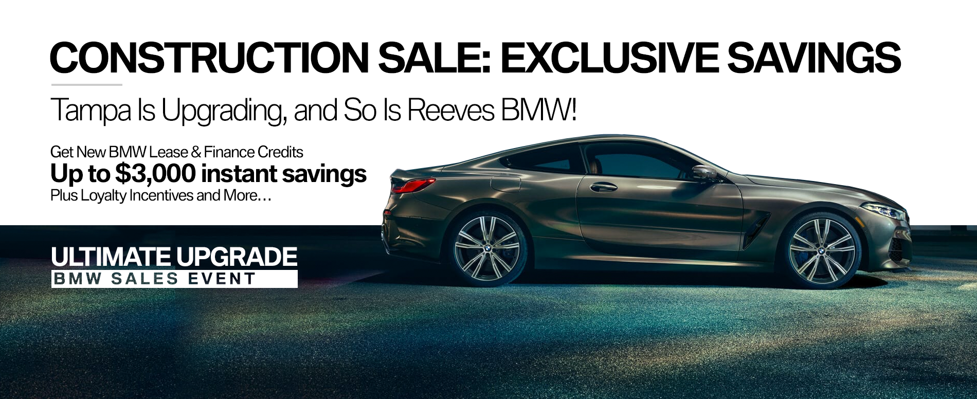Reeves BMW Upgrade Event