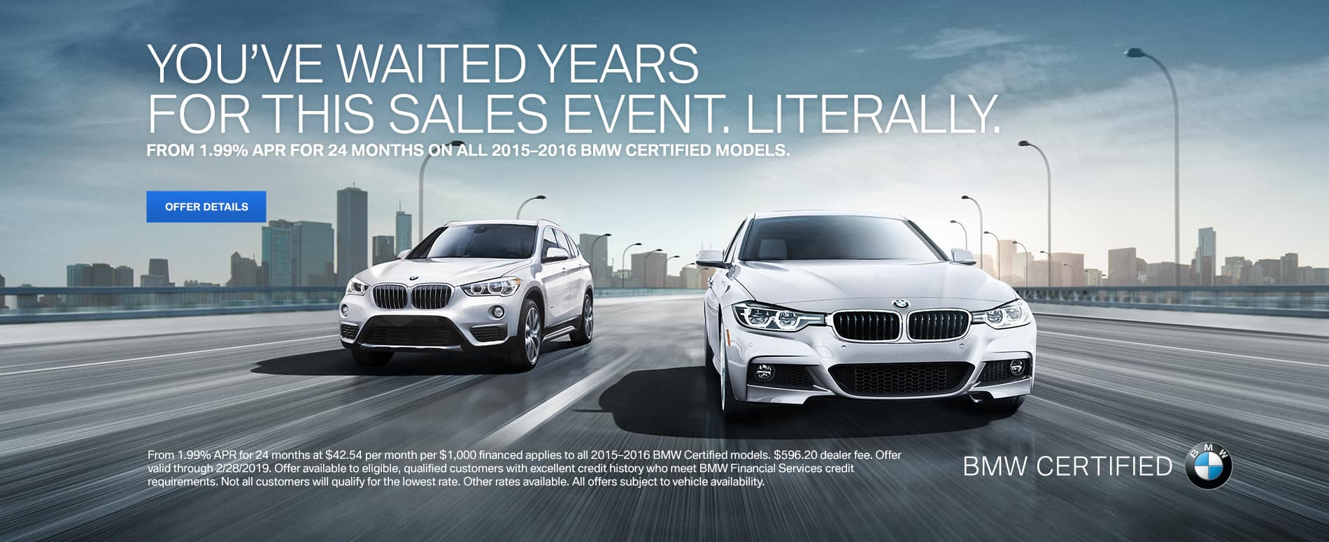 BMW CPO Offer