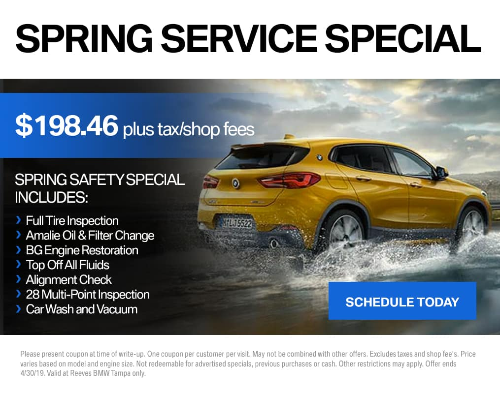 BMW Spring Service Special