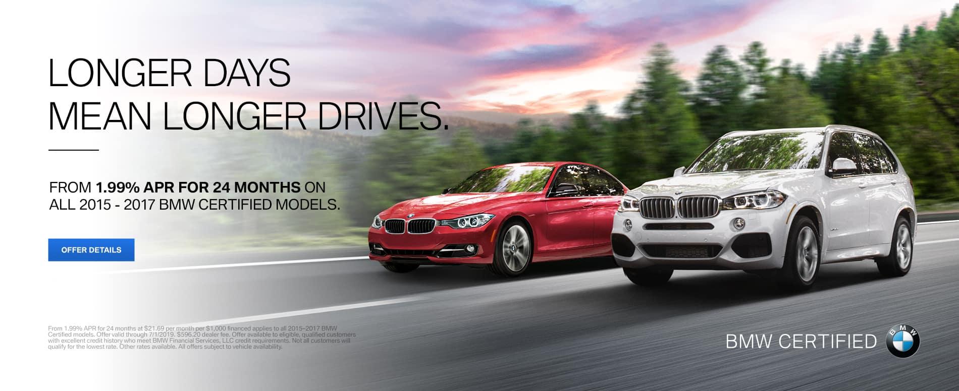 BMW CPO Offer
