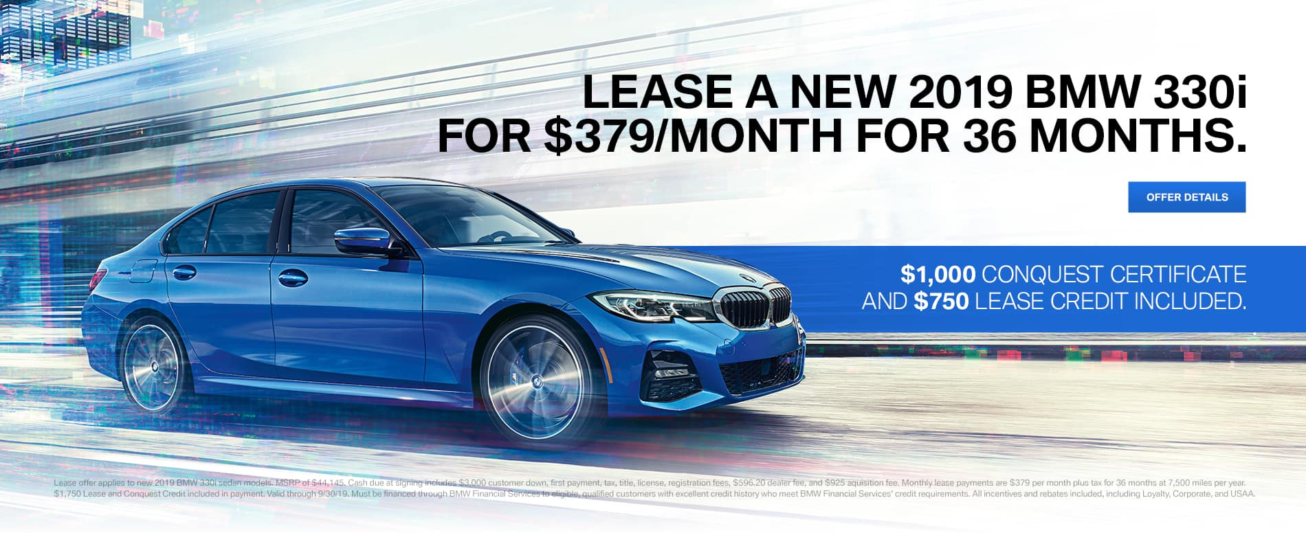 2019 BMW 330i Lease Offer | Reeves BMW Tampa