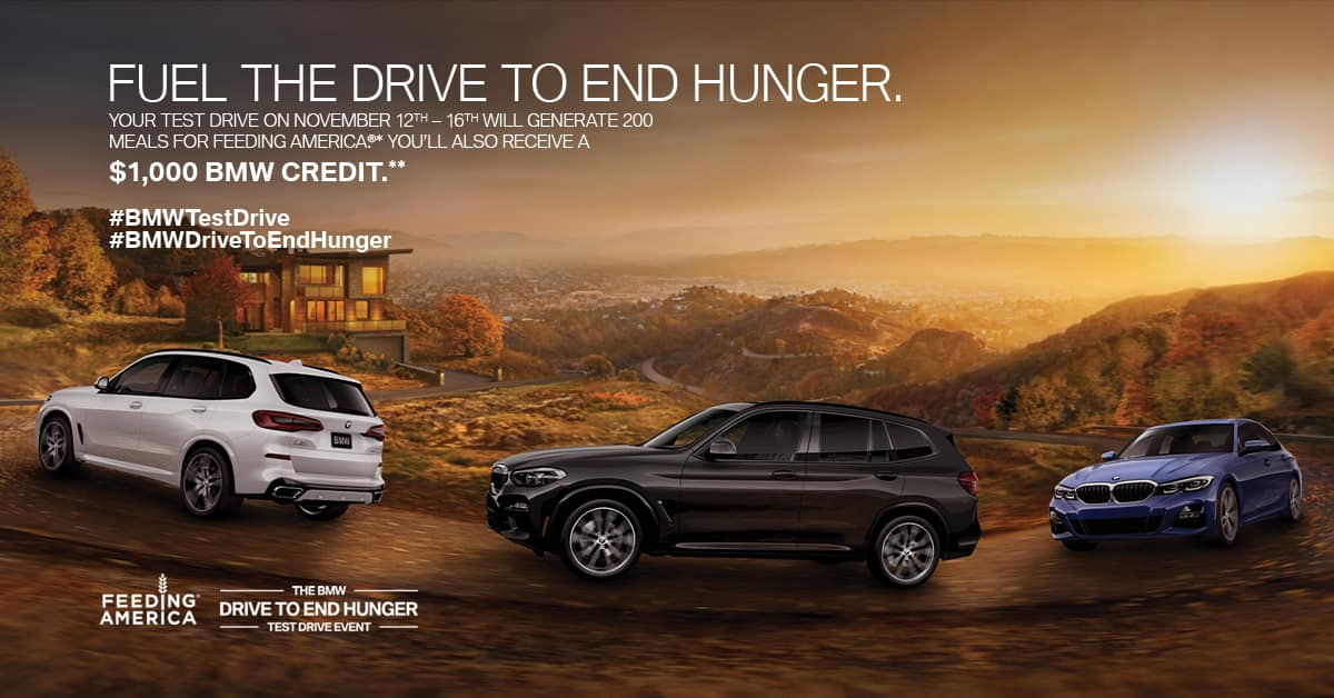 BMW Drive to End Hunger
