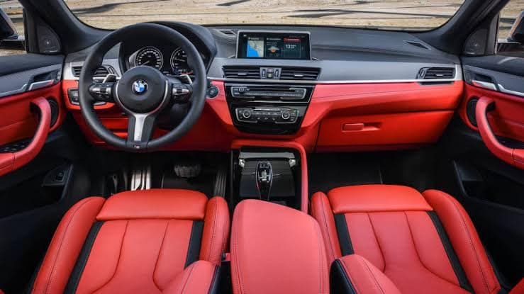 2020 X2 interior