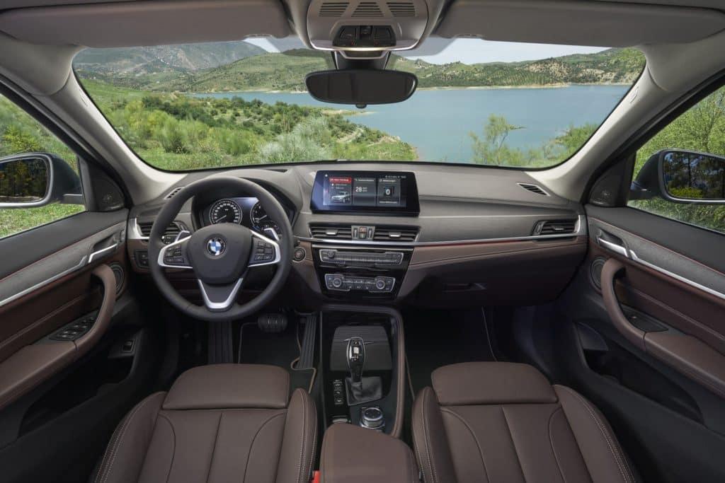 2020 X1 interior