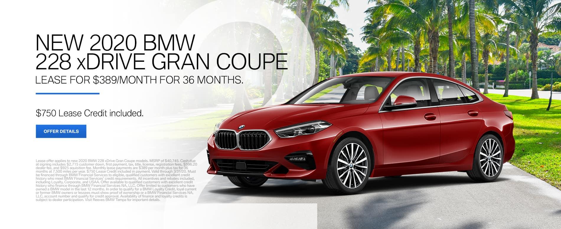 2020 BMW 228
