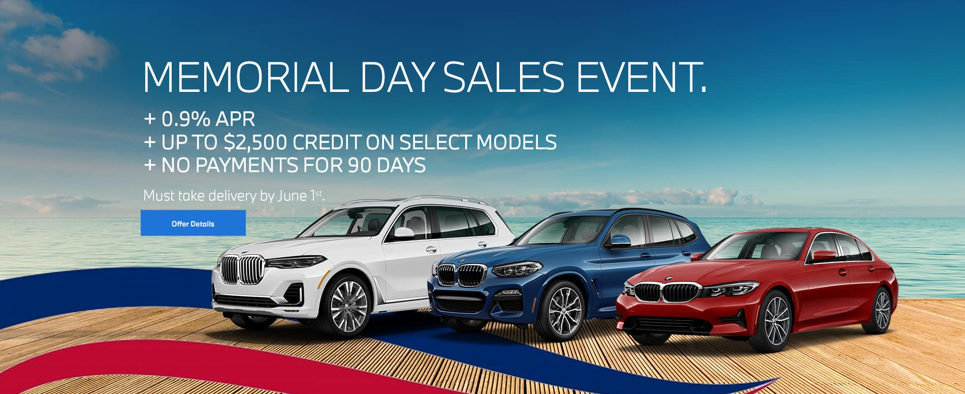 BMW Memorial Day