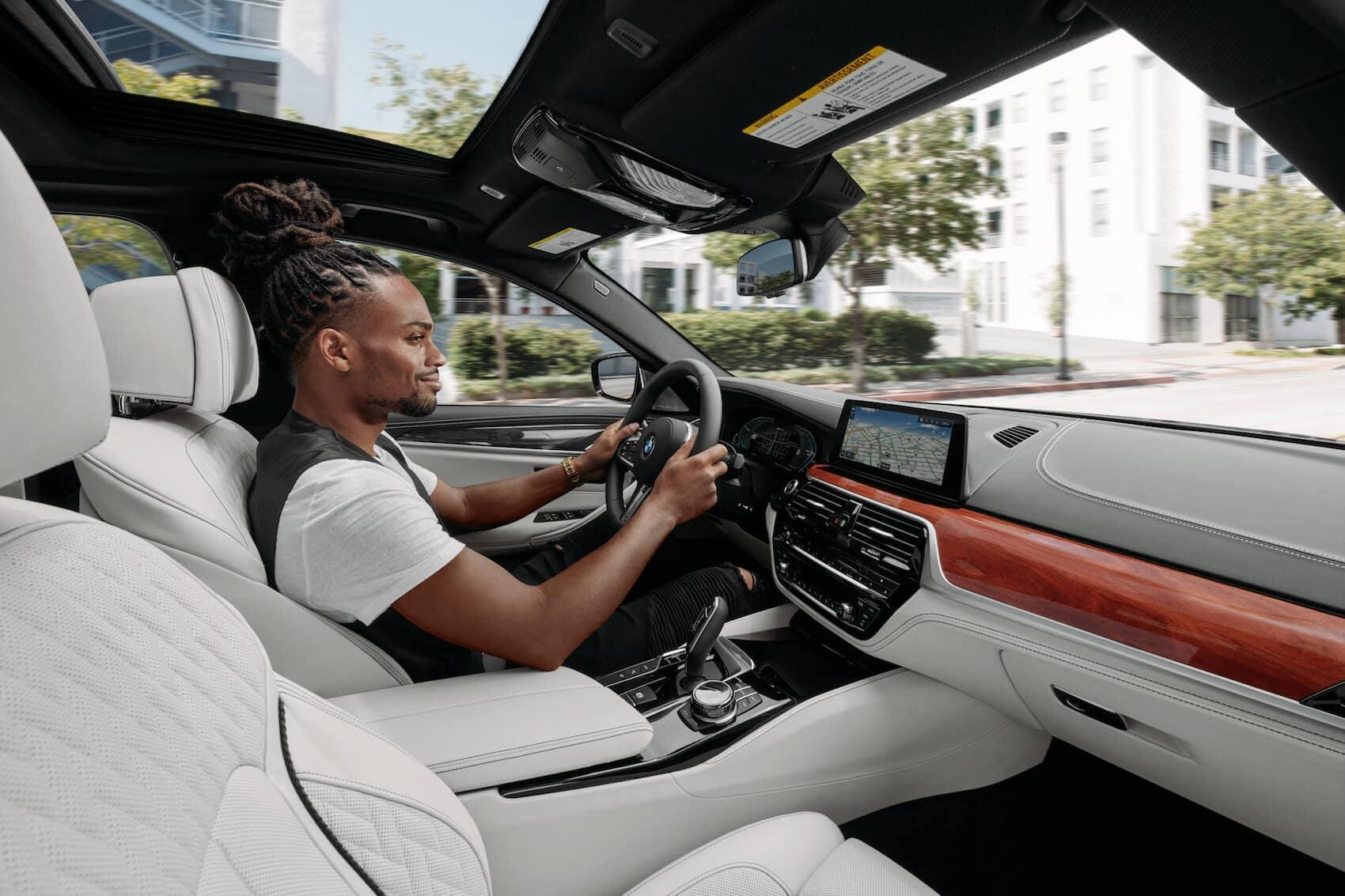 2020 BMW 5 series interior Tampa, FL