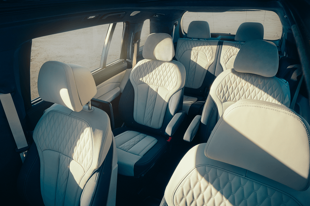 BMW X7 Interior Comfort