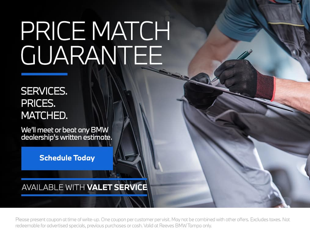 Reeves BMW Service Price Match