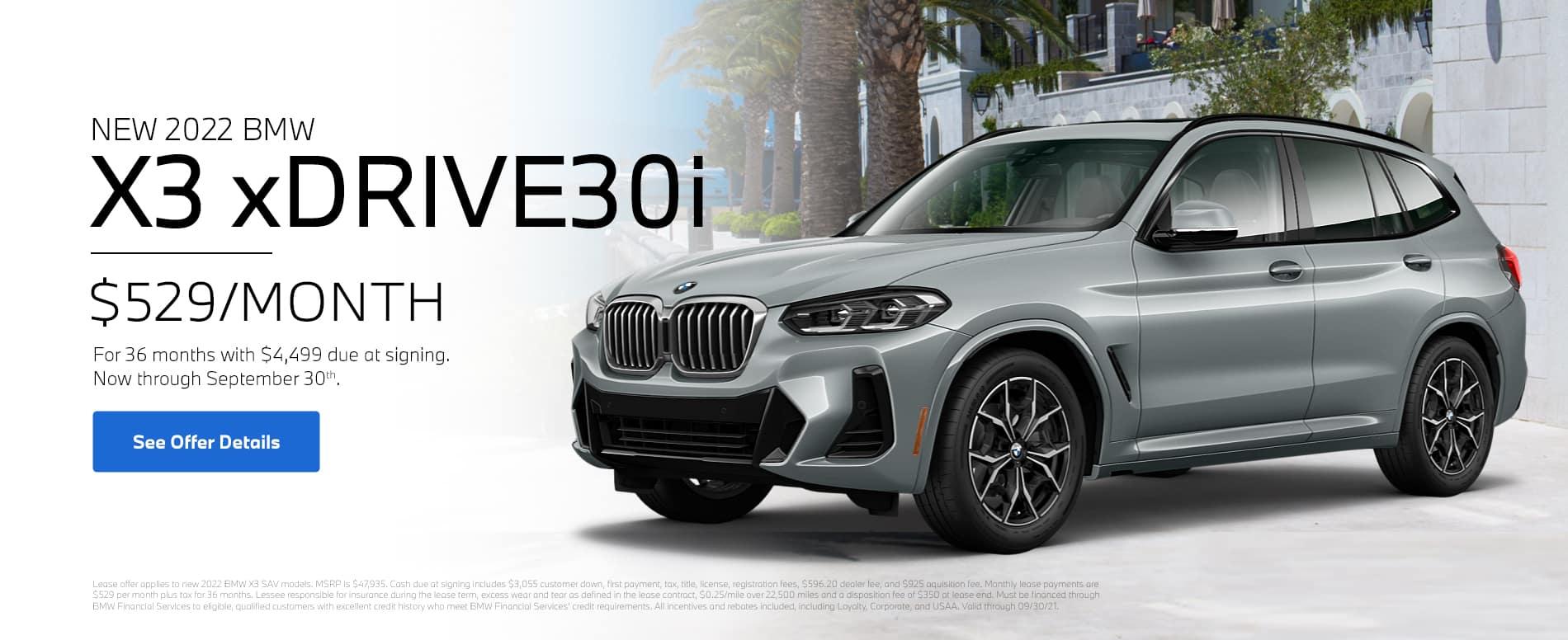 BMW-X3-Lease-September-Webslide