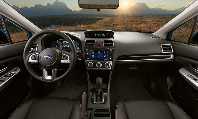 Subaru Crosstrek Interior