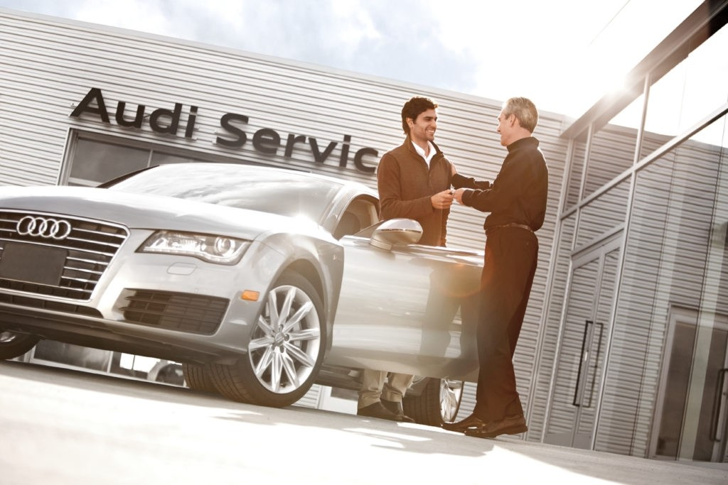 Audi Service Department