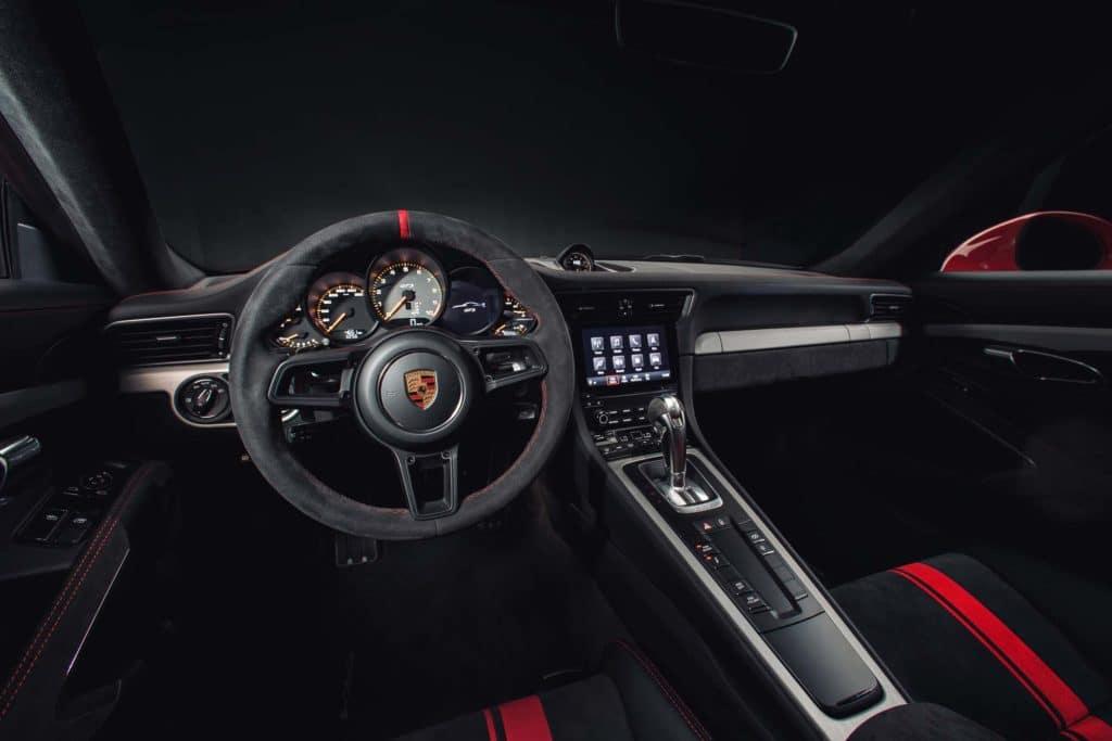 2018 Porsche 911 Interior