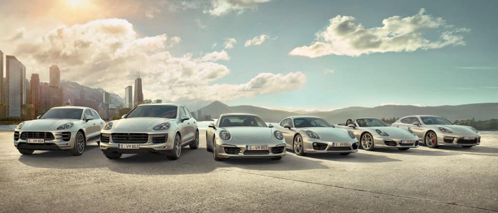 Porsche Model Lineup