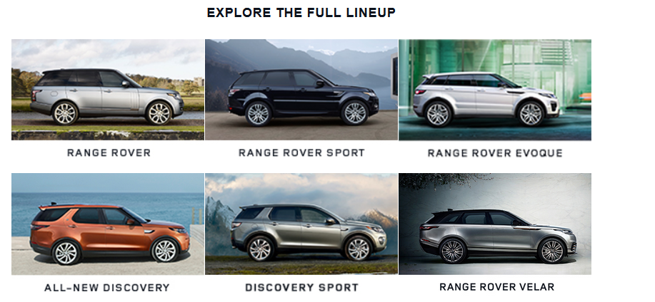 Land Rover Specials On Leases Service Apparel And More
