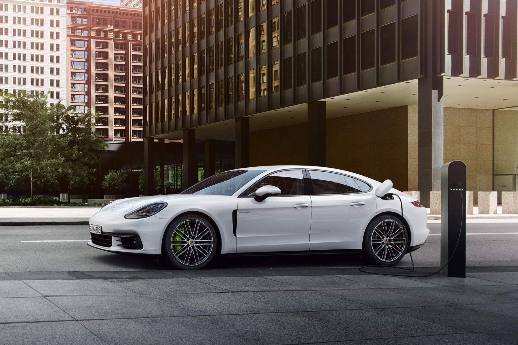 Introducing the All-New 2018 Porsche Panamera E-Hybrid: More Performance,  More Efficiency | Reeves Import Motorcars