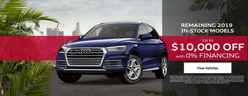 Audi Sales Offer