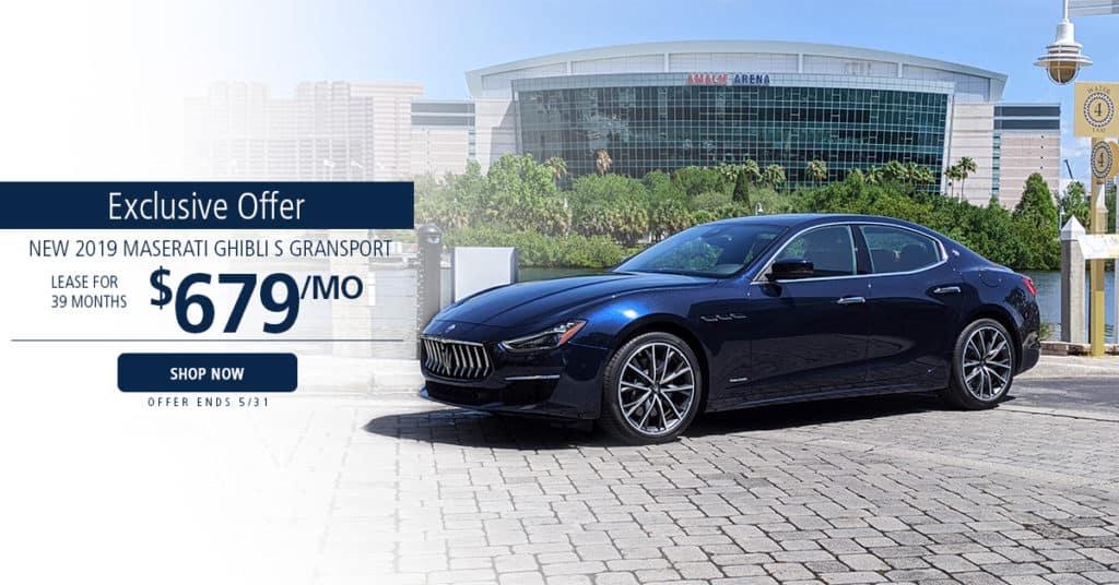 Maserati Ghibli Offer