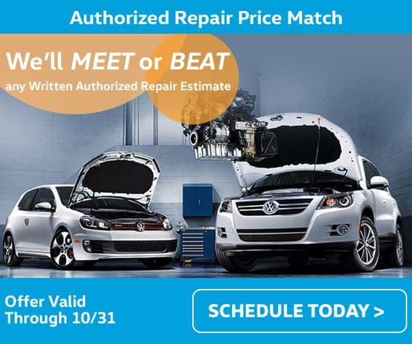 VW Price Match