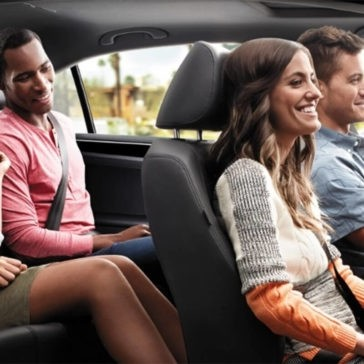 2017 Volkswagen Jetta Full Seating