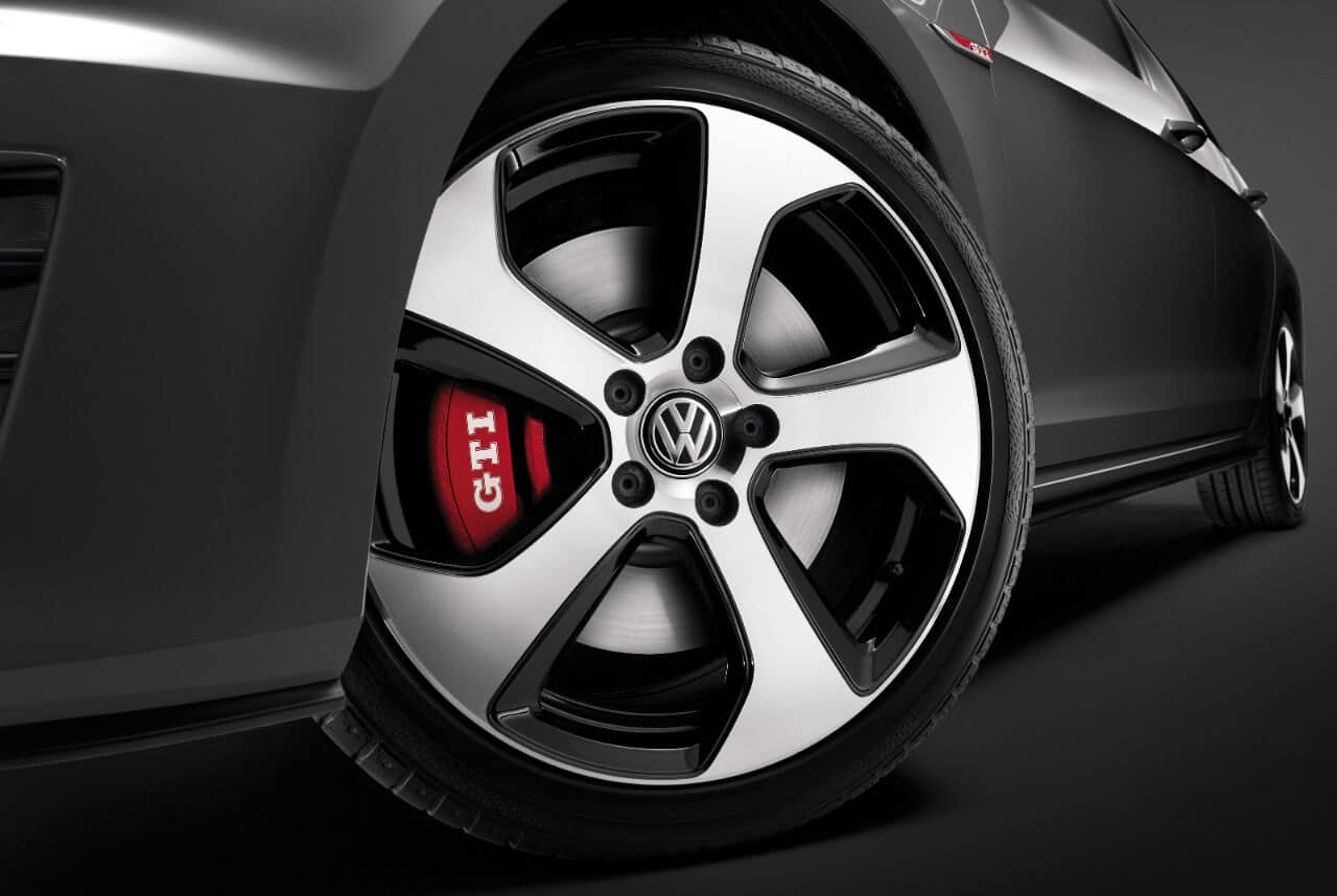 2017 Volkswagen Golf GTI Closeup Wheel