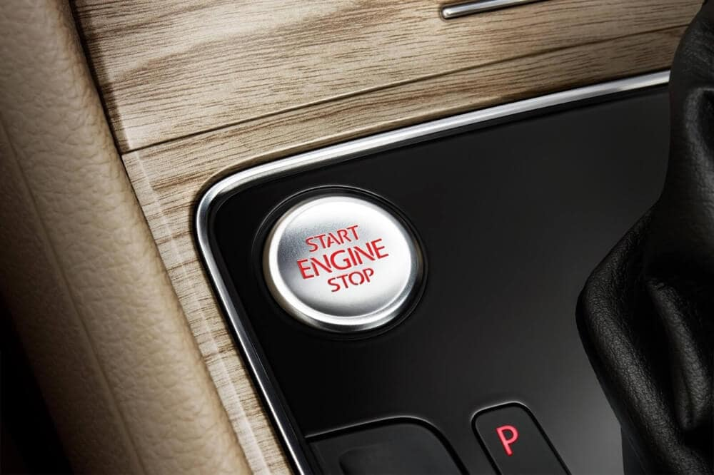 2018 Volkswagen Passat push button start
