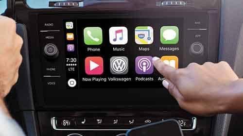 2018 Volkwagen Passat Apple Carplay
